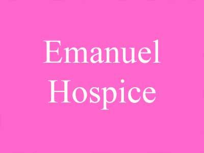 Emanuel Hospice support